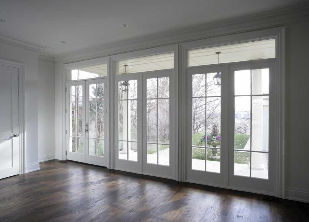 Французское окно в доме фото